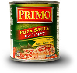 Pizza Sauce - Hot 'n Spicy