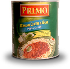 Pasta Sauce - Romano Cheese and Basil