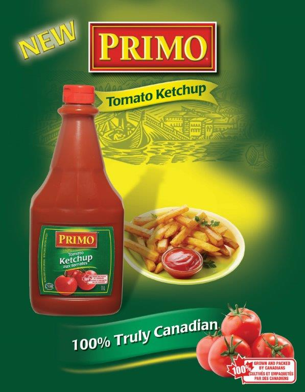 Primo Ketchup Front