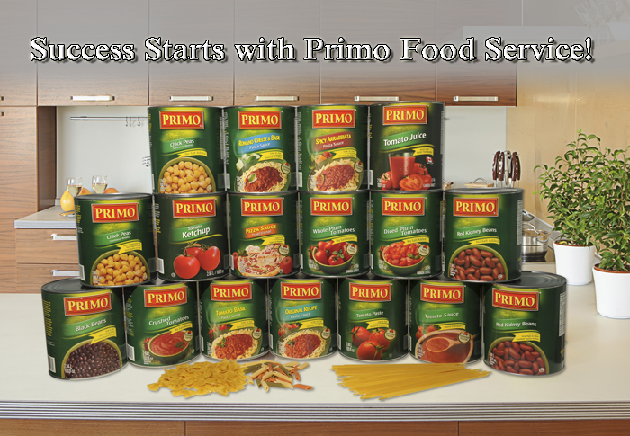 Primo Food Service Products group shot
