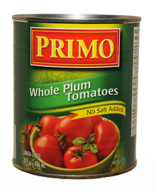 Whole Plum Tomatoes - No Salt