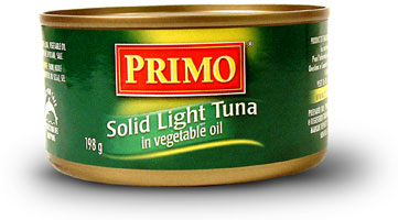 Solid Light Tuna in Vegetable Oil