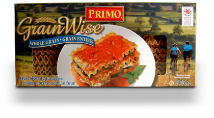 GrainWise Whole Grain Lasagne