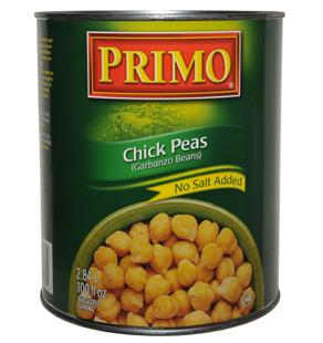 No Salt Added Chick Peas
