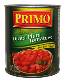 Diced Plum Tomatoes - No Salt