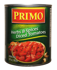 Herbs & Spices Diced Tomatoes